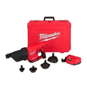 HC119815 - Kit De Pistola De Aire Para Limpieza De Drenaje Milwuakee 2572A-21