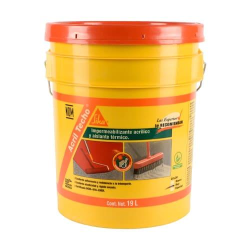 HC134427 - Acril Techo Power Rojo 4 A?os 19L Sika 432434