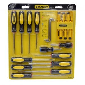 HC73299 - Juego De 20 Desarmadore Stanley STA60-220S